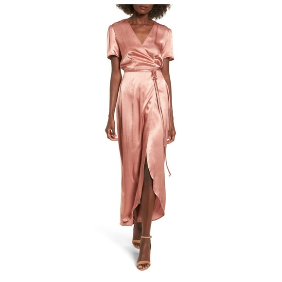 Wayf Dresses & Skirts - WAYF 'Gwyneth' wrap maxi dress